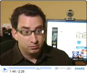David Spark interviewed on CBS about Facebook