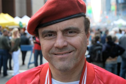 Curtis Sliwa. Photo by Ian Grundy