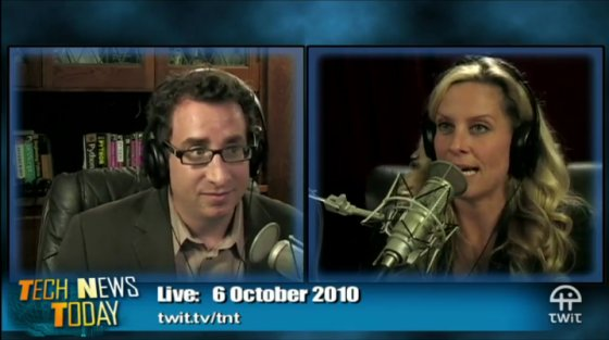 "Post image for Co-Hosting TWiT's ""Tech News Today"": Video in the Toilet"