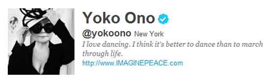 """Post image for Only Twitter could discover people """"similar to"""" Yoko Ono"""