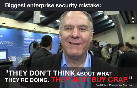 Post image for 20 of the Biggest Enterprise Security Mistakes